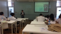 Japanese Leadership lecture for Chulalongkorn University BBA students