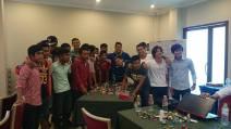 Cambodian Tiger FC's  Tiger Spirit Vision Sharing workshop