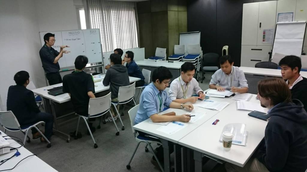 Case study during Management Workshop for TTET