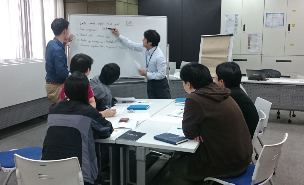 Discussions during Management Workshop for TTET